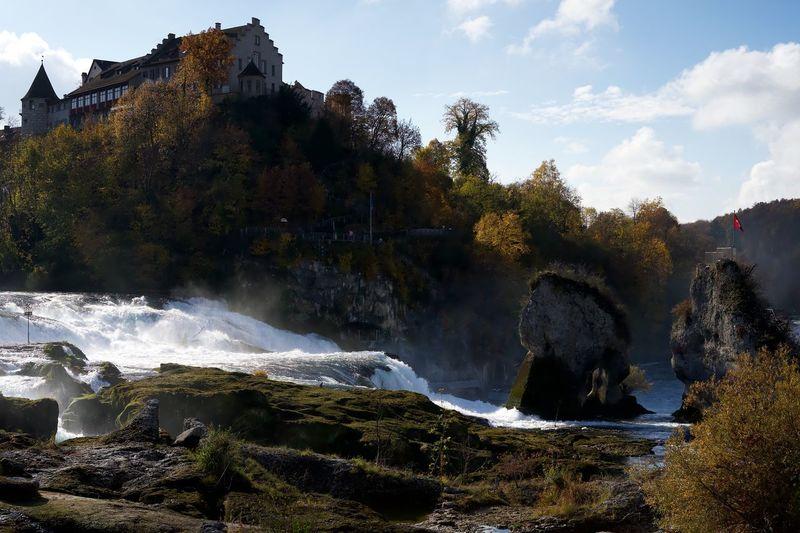 Rheinfall Fall