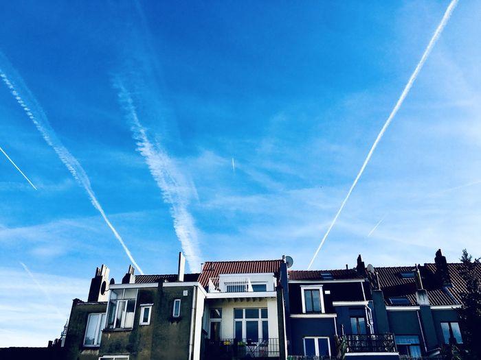 Sky lines Cloud