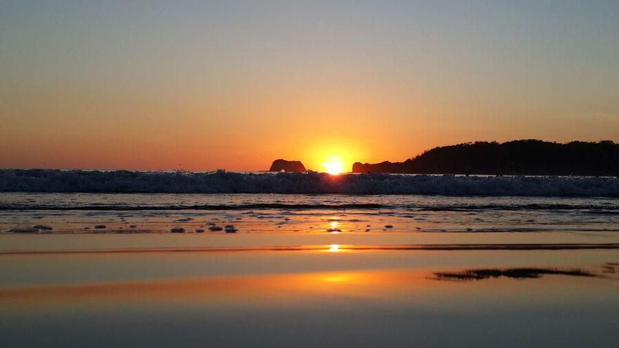 Sea Enjoying The Sun Sunset Sunset_collection