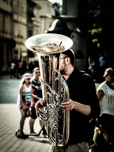 Trumpet Focus On Foreground Togetherness Outdoors Day Musician Adult Music People Musical Instrument Performance Only Men Adults Only Saxophone Young Adult Stories From The City