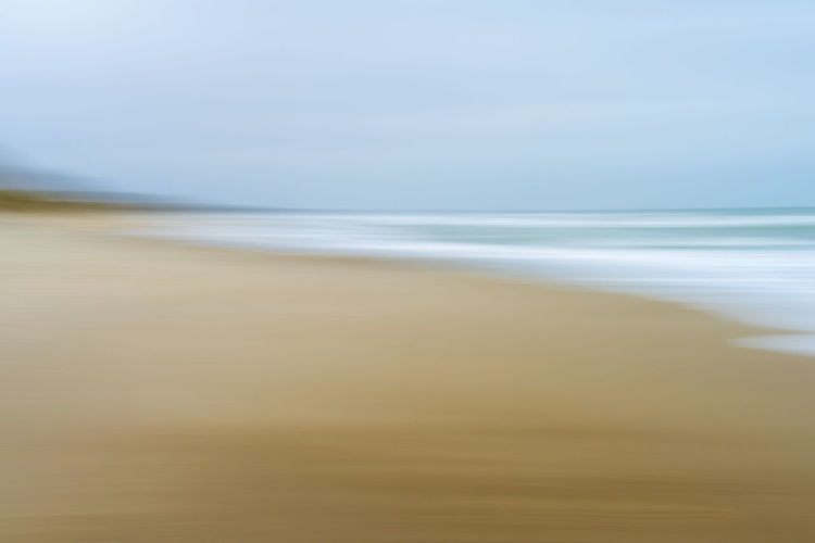Blurred north