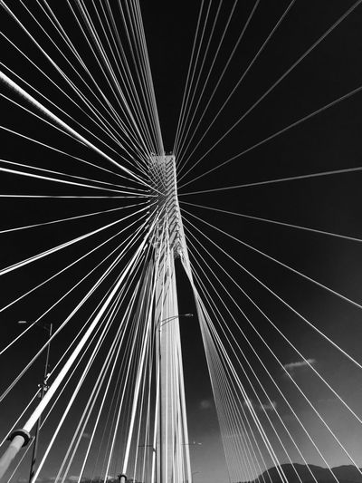 Architecture No People Connection Low Angle View Outdoors Building Exterior City Day Sky Close-up Bridge Vancouver City Skyscraper Vancouver BC The Architect