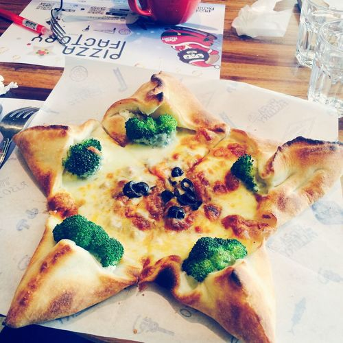 Pizza Pizza Time Pizzafactory Delicious Cheese! Taiwan 披薩工廠 😋😋😋😋😋