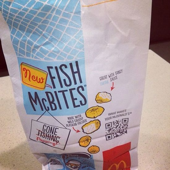 Instagram Food Mcdonalds Fish
