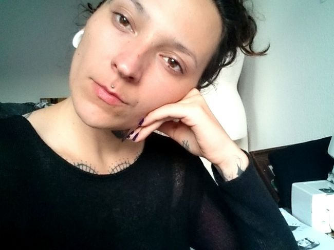 So. Fucking. Tired. Girl Tired No Make Up No Filter Needed Clear Borderline