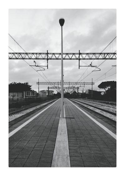 Rail Railway Railroad Track Train Station Cityscape Dramatic Light Urban Landscape Urban Geometry Urban Solitude Solitude Melancholic Landscapes Melancolia Pivotal Ideas Geometric Shapes PolaroidEyeEm Best Shots Eye4photography