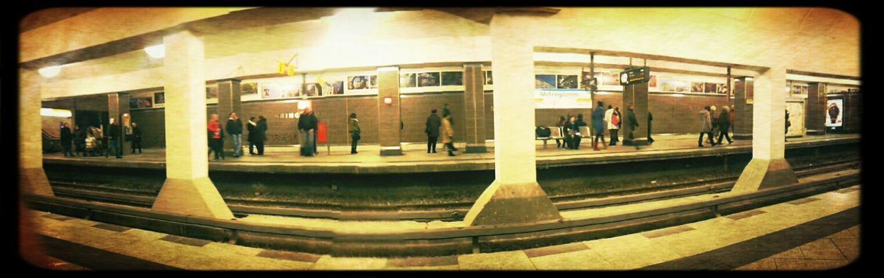 Berlin Subway Station Panorama Frame It!