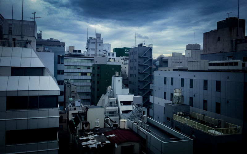 Neo Tokyo 2018 Japan Tokyo Apartment Architecture Building Building Exterior Built Structure City City Life Cityscape Cloud - Sky Day High Angle View Modern Nature No People Office Office Building Exterior Outdoors Residential District Sky Skyscraper