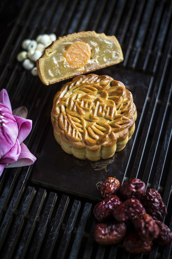 Moon Chinese Close-up Day Dessert Food Food And Drink Freshness Indoors  Indulgence Moon Cakes Mooncake No People Ready-to-eat Sweet Sweet Food Table Traditional