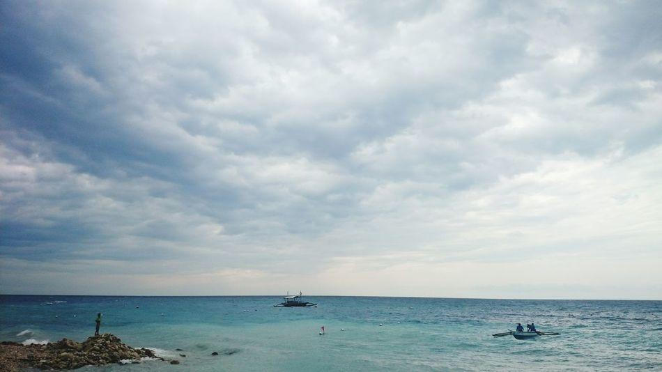 Horizon Beach Blue Water Whale Watching