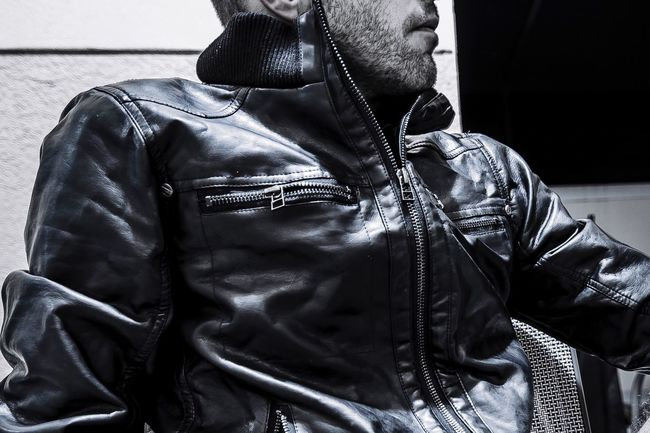 Always Be Cozy Leather One Person Lifestyles Leather Jacket Men Real People Indoors  One Man Only Only Men Day People Adult Fashion Clothes Editorial  Commercial EyeEm Self Portrait Kris Slater Photography Professionalphotography Nikon New