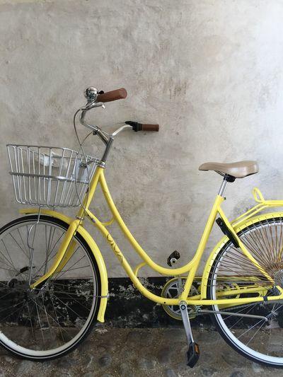 Yellow bike A