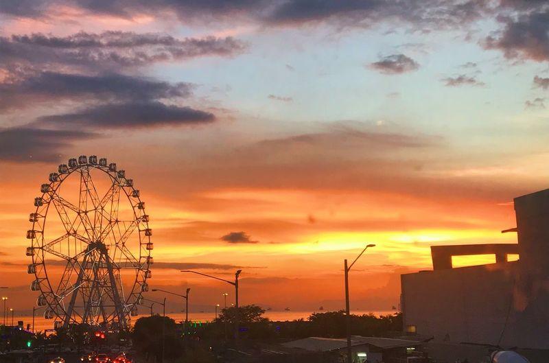Golden hour Sky