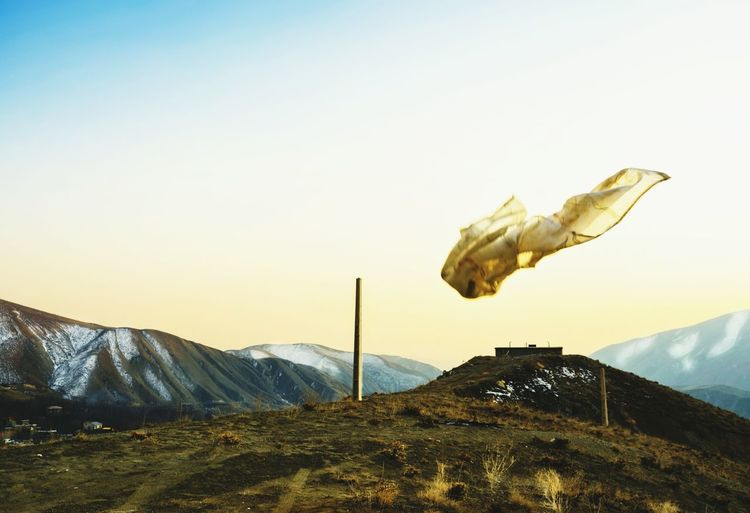 Sunset One Person Flying Sky Outdoors One Man Only Landscape Mountain Fine Art Photography Gold Golden Free Adapted To The City Live For The Story
