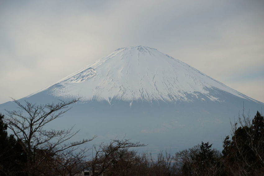 Great Views Greatness Japan Mount FuJi Beauty In Nature Cloud - Sky Cold Temperature Evening Sky Fuji San Landscape Mountain Mountain Peak Nature No People Outdoors Scenics Sky Snow Snow Capped Mountain Snowcapped Mountain Symmetry Tranquil Scene Tranquility Volcanic