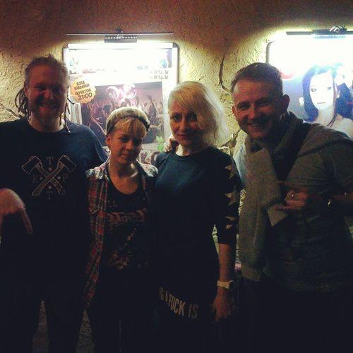 Зустріли на концерті Тартака в Луцьку Мяча, Жуковську і ще багато цікавого знайомого народу. Луцьк Тартак Live