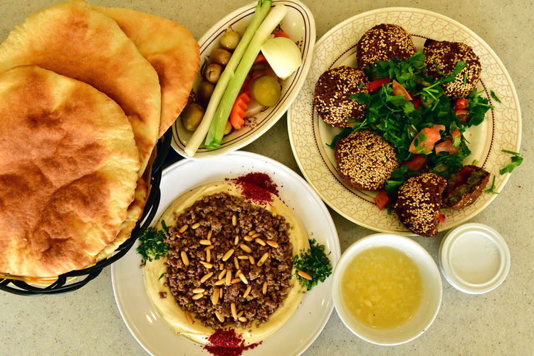 Arab Street Breakfast Breakfast ♥ Falafel Hummel Humous Humus Middle East Arab Food Arabian Breakfast Arabian Food Arabic Style Arabica Breakfast Table Breakfast Time Falafel And Halumi Falafel Balls Falafel Hummus Falafelgf Falafels Food Tables Healthy Eating Hummous Ready-to-eat Serving Size
