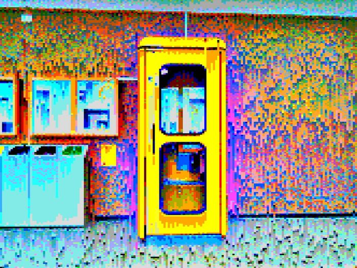 Communication No People Day Multi Colored Close-up Phonecall Phonebooth Phonebox Pixelated Art Is Everywhere