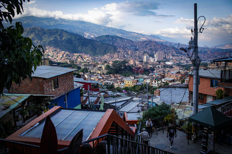 Architecture City Cityscape Colombia Medellín Panorama Travel View Architecture City Cityview Mountain Outdoors