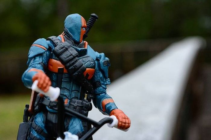 You ain't seen nothing yet..Toyonlocation Toy_nerds Deathstroke DC Collectable Comics SuicideSquad Pensacola_toynerds Bmx  Toyphotography Toyoutsiders _tyton_ Ata_dreadnoughts Toystagram Toyjuice Toyaddict Photooftheday Photoshoot Portrait Capturedplastic Toygroup_alliance Toycommunity Epictoyart