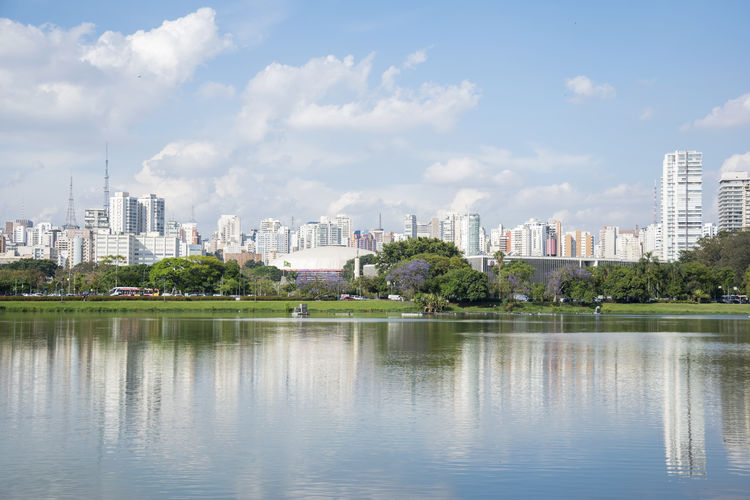 My beautiful São Paulo Blue Sky City Cityscape Cloud - Sky EyeEmNewHere Landscape Landscape_Collection Miles Away Modern Parque Do Ibirapuera Reflection Sao Paulo - Brazil Saopaulocity Sky Skyscraper São Paulo São Paulo, Brasil Travel Travel Destinations Travel Photography Tree Urban Skyline Water Miles Away Been There. Lost In The Landscape