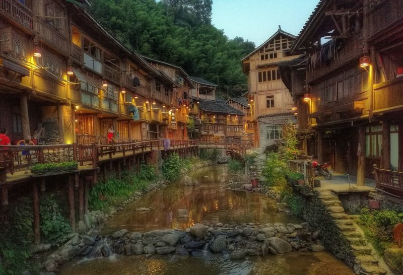 Architecture Built Structure Water Building Exterior Reflection Canal City Waterfront Day City Life Old Town Outdoors Sky Bridge Town Tranquility No People