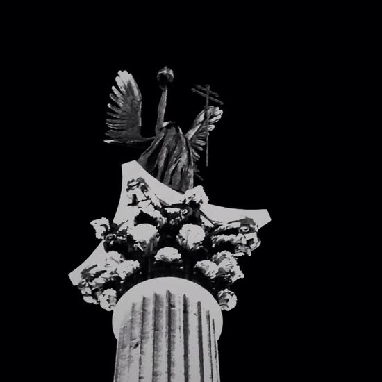 Michael Archangel Monument Coloumn