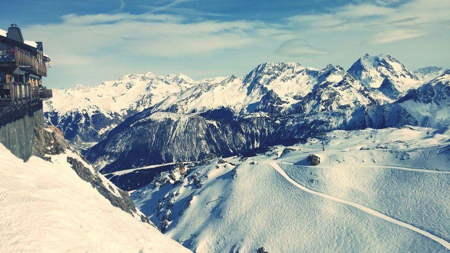 Skiing Ski Courchevel  France Mountains Original Experiences