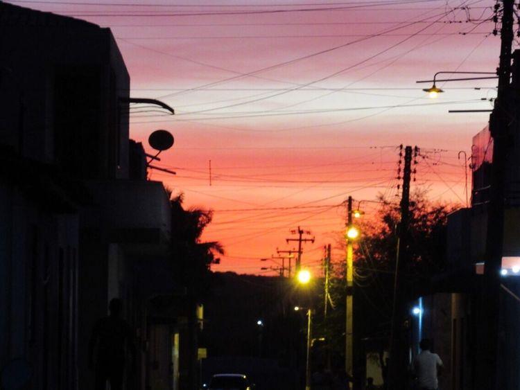 How beautiful is that? Horizon Sky Colors Sunset Urban First Eyeem Photo