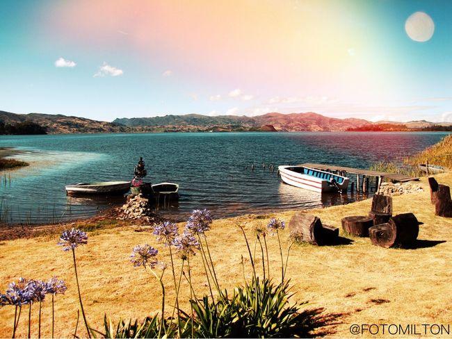 Lago de Tota Colombia Art
