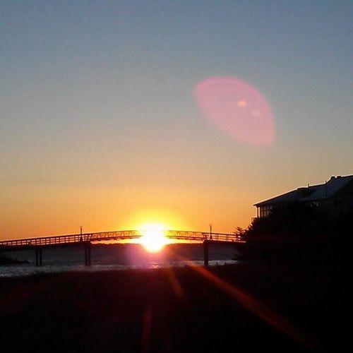 Sunset under Fager's bridge Ocmd