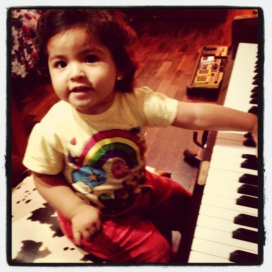 Piano Lover Mi Sobrina