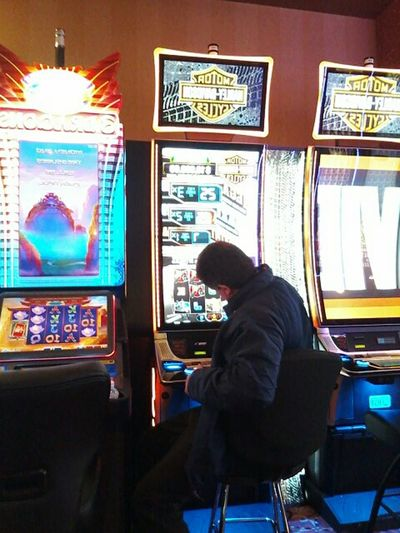 Adults Only One Person Adult Indoors  Gambling Chance Day City Warm Clothing Cripple Creek, Co casino