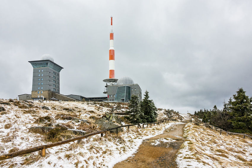Landscape in the Harz area, Germany. Architecture Relaxing Trees Winter Brocken Building Exterior Buildings Cold Temperature Day Harz Journey Landscape Mountains Nature No People Outdoors Rocks Saxony Anhalt Snow Tourism Travel Destinations Vacation