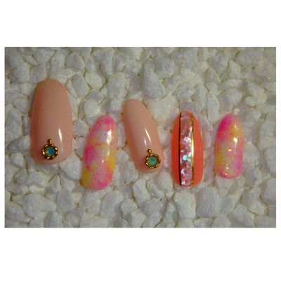 Nails Nailart  Fashion Favorite Park Colors Love Check This Out Beautiful Art 💅