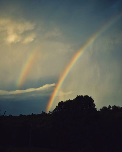 Two Is Better Than One Double Rainbow