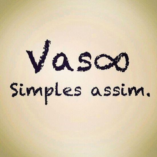 simples assim Vasco Instavasco