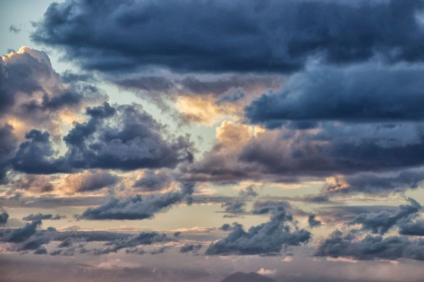Atmospheric Mood Awe Backgrounds Beauty In Nature Cloud - Sky Cloudscape Day Dramatic Sky Full Frame Idyllic Majestic Nature No People Outdoors Pizzo Calabro Scenics Sky Sky Only Storm Cloud Sunset Tranquil Scene Tranquility Weather