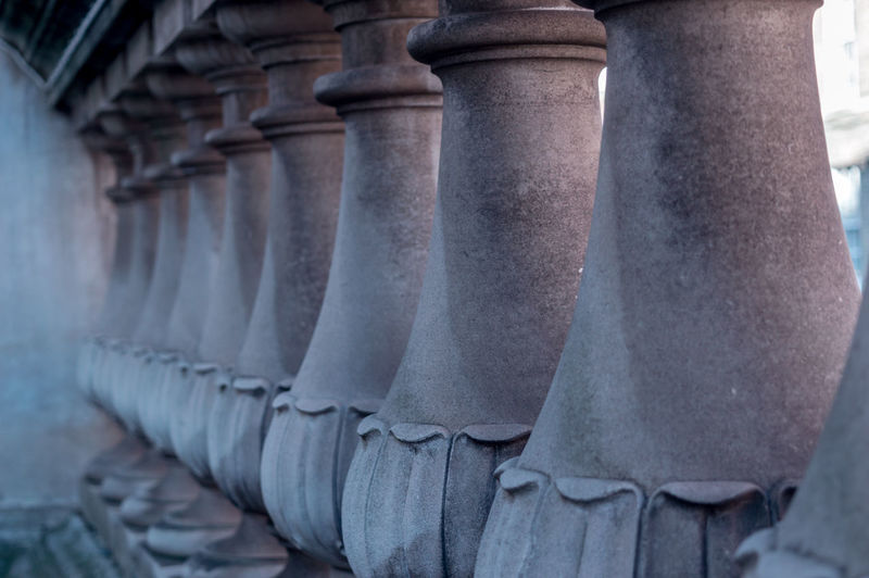 Close-Up Of Balustrade