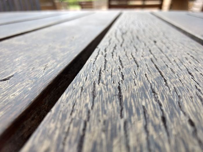 mesa Wood Mesa De Madeira Table Surface Level Wood - Material No People Outdoors Day Road Close-up