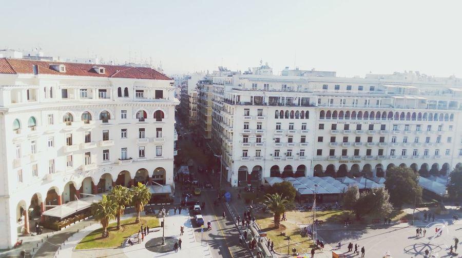 Salonik Urban City View Morning Anewyear