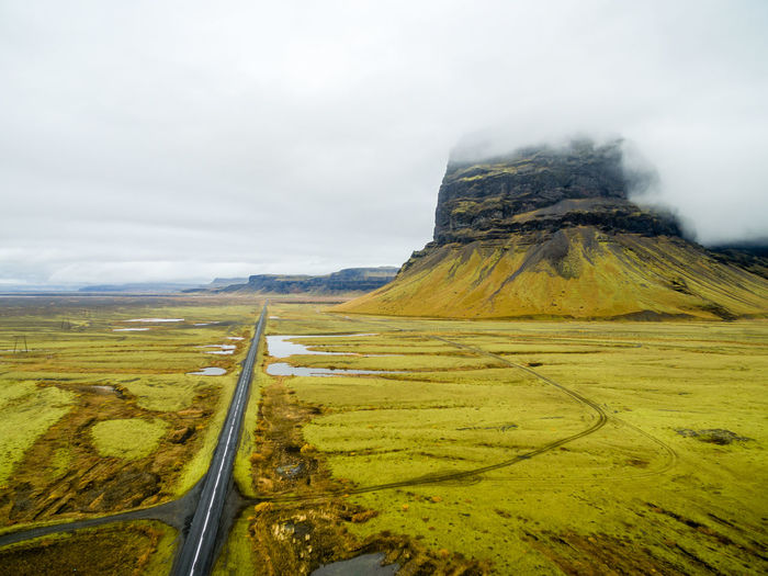 Aerial Aerial Photography Aerial Shot Agriculture Beauty In Nature Cloud - Sky Day Dronephotography Field Growth Iceland Landscape Nature No People Outdoors Rural Scene Scenics Sky