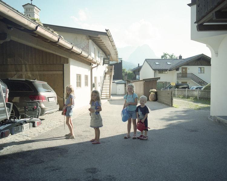 120 Film Backlight Child Childhood Children Day Film Film Photography Fuji Pro400H Fujifilm Garmisch German Germany Girls Lifestyles Light And Shadow Outdoors Pentax PENTAX67 Pro400H Real People Shadow Sunny Girl Power The Portraitist - 2016 EyeEm Awards