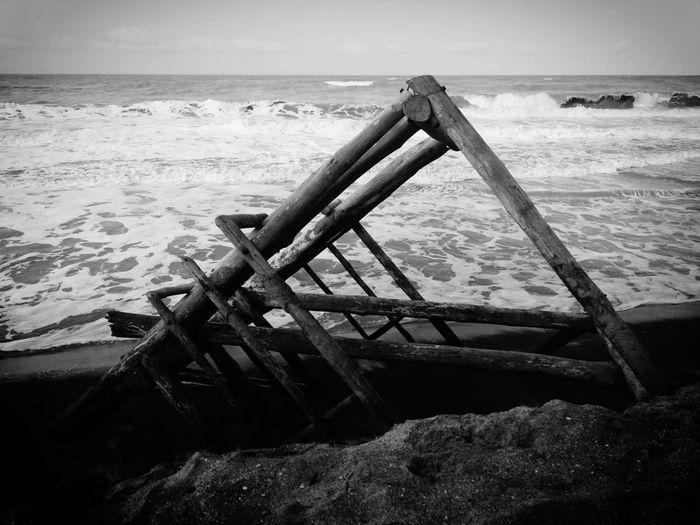 Ruins Water Sea