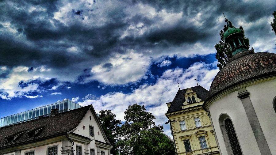 Moonshining @ Kornmarktplatz, Bregenz. Kunsthaus, Kornmesser Postgebäude Post, Nepomukkapelle, Meßmer
