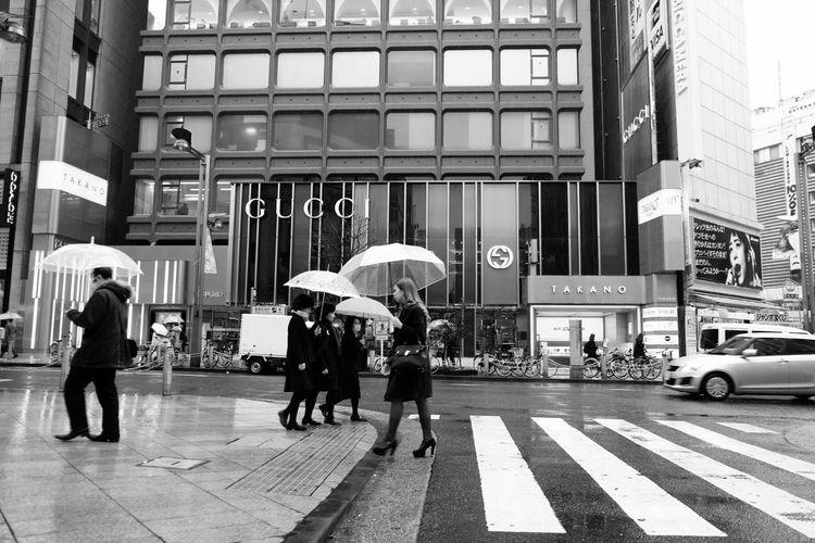 Cityscapes Street Street Fashion Rain Rainy Days Blackandwhite Blackandwhite Photography Taking Photos From My Point Of View Hello World Snapshot Snapshots Of Life EyeEm Best Edits EyeEm Best Shots Eye4photography  Showcase March Streetphotography People People Watching Fujifilm Fujifilm_xseries in Tokyo , Japan Women Who Inspire You