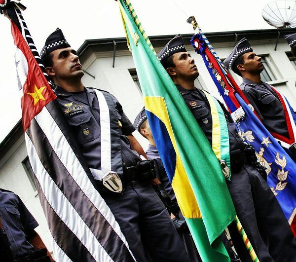 Academia De Polícia Militar Do Barro Branco Military Police Brazilian Police Força E Honra Patriamadabrasil