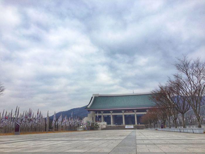 2015.12.18.🇰🇷 천안 독립기념관 태극기