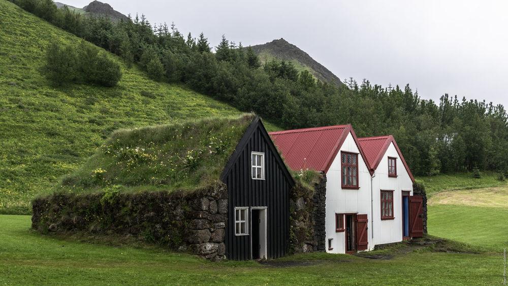 Skógar Iceland Museum Old Farm Old Farmhouse