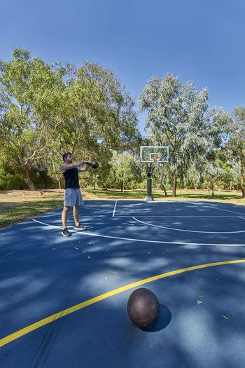 Basketball Outdoors Sport